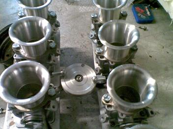 1UZ Eight Throttle Body Manifolds